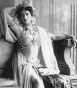 Even Mata Hari wore them as part of her job.
