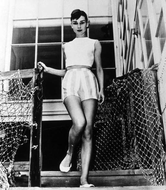 Even Audrey Hepburn wore them! Case closed, crop tops can be classy if styled properly.