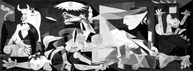 Picasso's Guernica is such an emotional portrait of Spain's civil war.