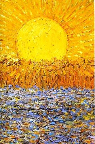 Van Gogh's Le Soleil