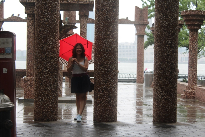 We even got rain!! I thought I was happy about it after battling with the heat... until humidity came along and my hair became a giant frizz ball.