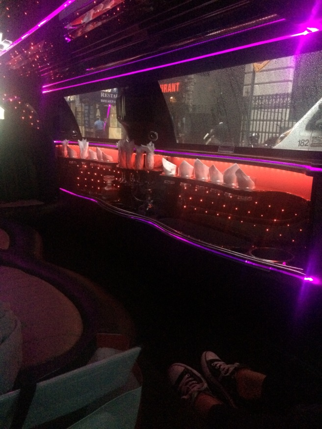 Only in NYC your taxi ride to the airport is a limousine... And this is not a joke.