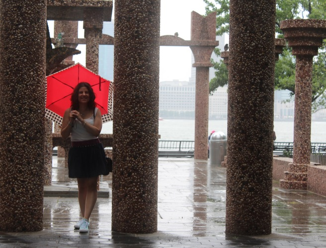 RAINY BATTERY PARK